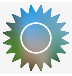 Weather flat style icon vector image vector image