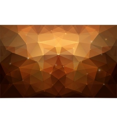 Triangular gold texture vector