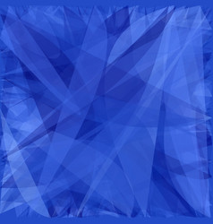 Blue abstract background from dynamic curves - vector