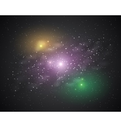 stars in space vector image