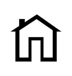 House classic property icon vector