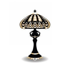 Vintage Baroque Classic lamp vector image