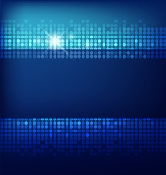 Abstract Technology blue background vector image