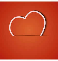 Background orange icon applique eps10 vector