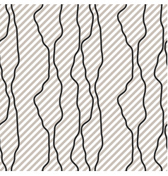 Black fine diagonal rough line pattern black and vector