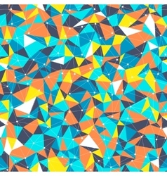 Bright Triangles vector image vector image