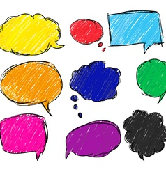 bubble for speech vector image