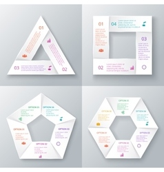 Celements for infographic vector