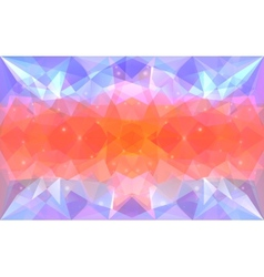 Triangular lightcolor texture vector image