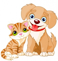 best friends ever vector image