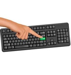 hand touching key help vector image