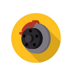 Auto car automotive brake icon vector