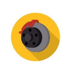 Auto car automotive brake icon vector image vector image