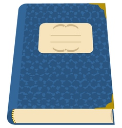 book or a notebook vector image vector image