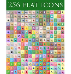 Flat icons 12 vector