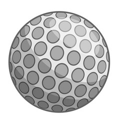 Golf ball icon cartoon style vector