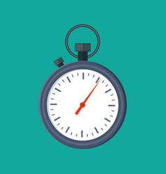 analog chronometer timer counter vector image