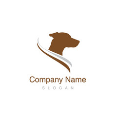 Jack russel dog logo vector