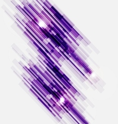 Violet abstract straight lines background vector image vector image