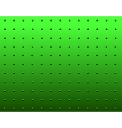 Rivet green vector