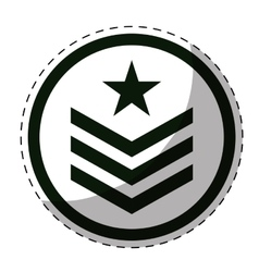 Army related icons image vector