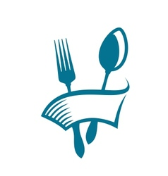 Restaurant or eatery icon vector image vector image
