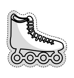 skate wheels isolated icon vector image