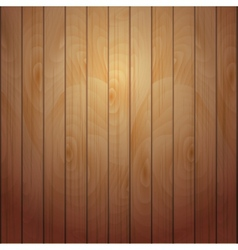 Wooden plank vector image