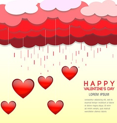 Happy valentines day cards background vector