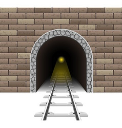 Railway tunnel 02 vector