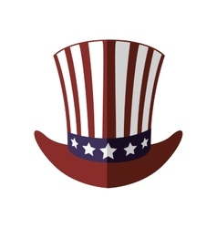 Hat icon usa design graphic vector