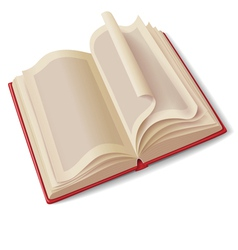 Open book vector image