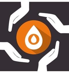 petroleum industry design vector image