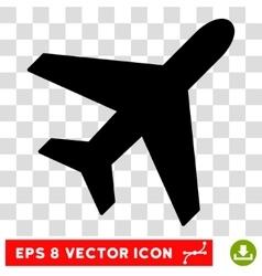 Plane Eps Icon vector image vector image