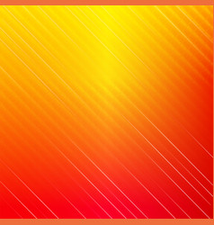 red and yellow square diagonal background vector image vector image