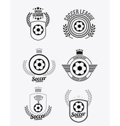 Soccer desing vector