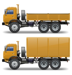 Trucks set 1 vector