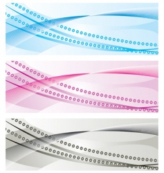 background banners vector image