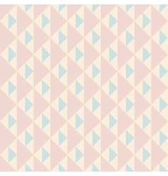 Pastel retro seamless pattern vector image vector image