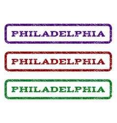 Philadelphia watermark stamp vector