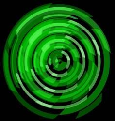 circular tech mandala vector image