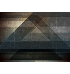 Abstract grunge tech vector image vector image