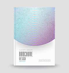 Abstract template for covers flyers banners vector