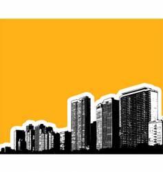 city buildings vector image vector image