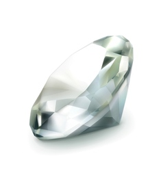 Diamond object vector image vector image