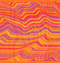 Warped lines background flexible stripes vector