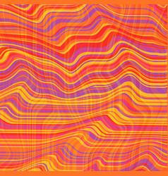warped lines background flexible stripes vector image vector image