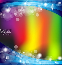 Abstract background with colour lines vector image