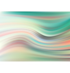 Abstract modern wavy flowing satin background vector