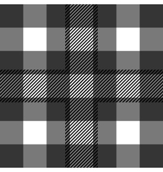 Seamless tartan pattern repeated plaid twill tile vector